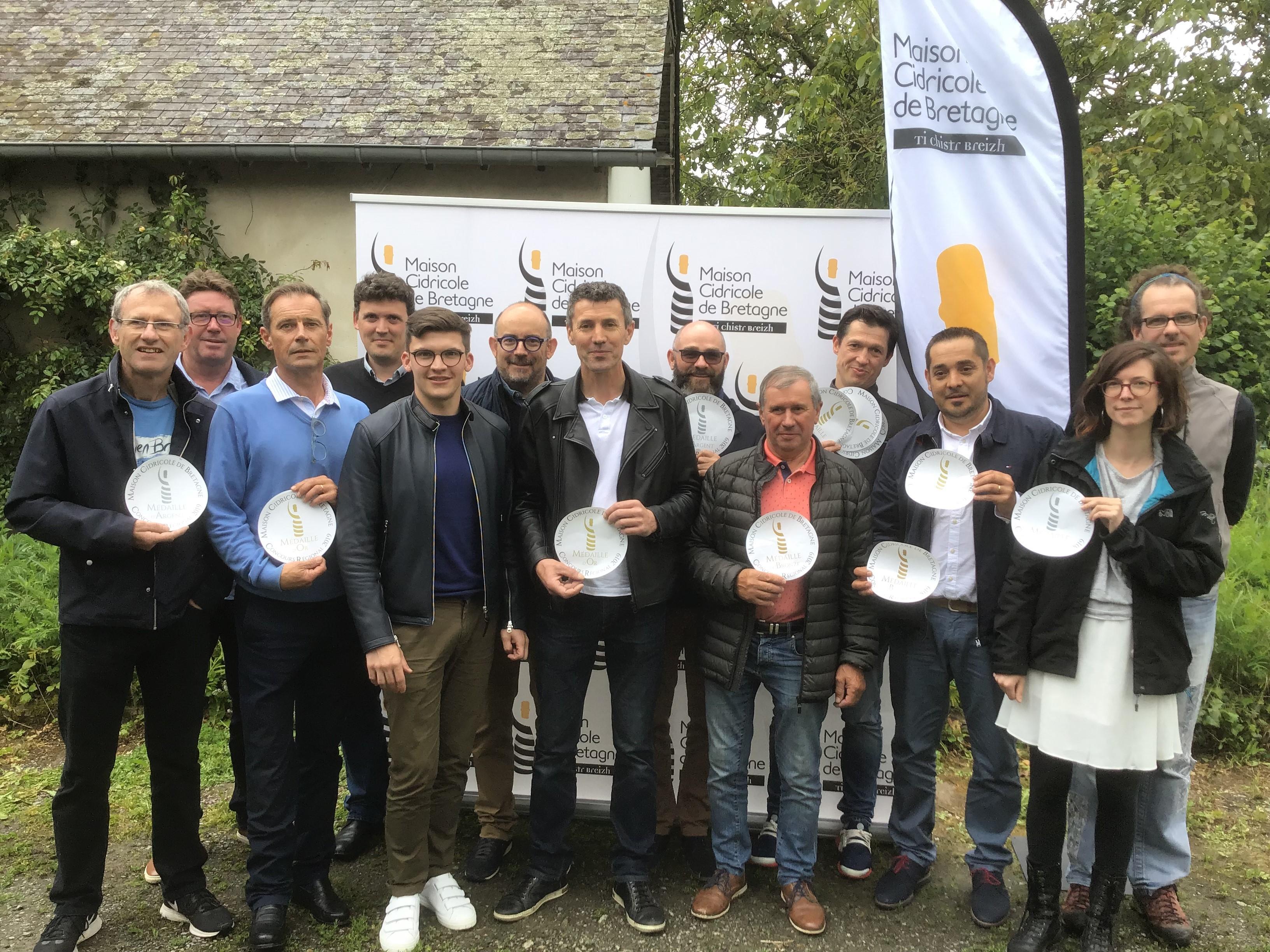 Palmarès du 5ème concours Régional des Produits Cidricoles de Bretagne